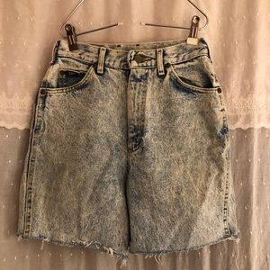 Vintage LEE Acid Wash shorts